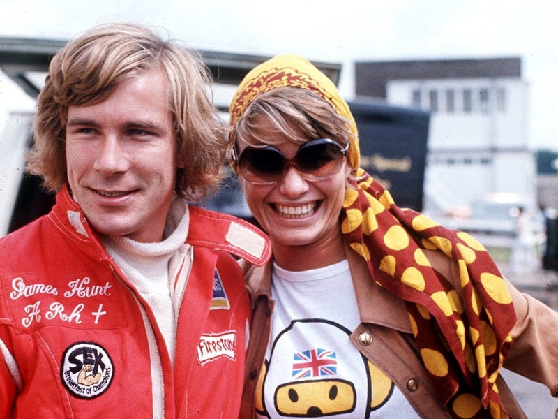 James hunt with nude model