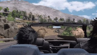 Five Minutes Of <i>Final Fantasy XV</i> Driving (And Hair)