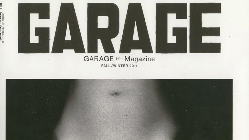 Illustration for article titled Here Is An Uncensored Cover Of Dasha Zhukova's Garage Magazine [NSFW]