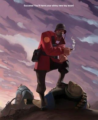 Illustration for article titled Did You Get Your Secret Team Fortress 2 Medal?