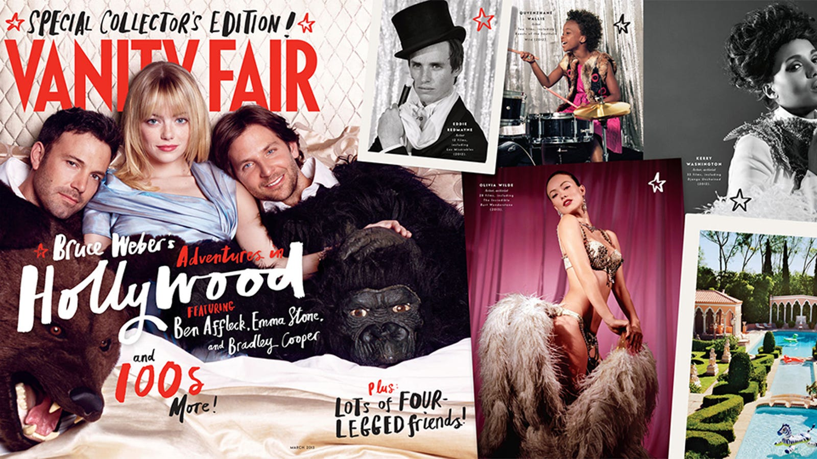 Nude Vanity Fair Nude Hollywood Issue HD