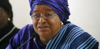 Liberian President Ellen Johnson Sirleaf (Lionel Healing/Getty Images)