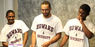 Howard University students compete in the 2012 Honda Campus All-Star Challenge. (Getty Images)