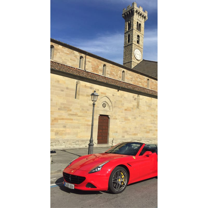 Illustration for article titled Here's How I Got to Drive a Ferrari California T in Firenze, Italy for Less Than the Cost of One Month's Lease Payment on a New Jetta