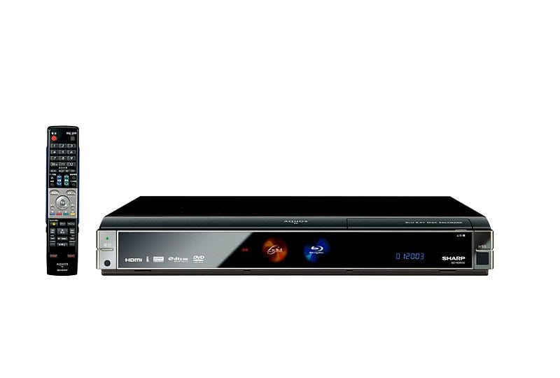 Illustration for article titled New AQUOS Blu-Ray Recorders from Sharp Have Up to 1TB Storage