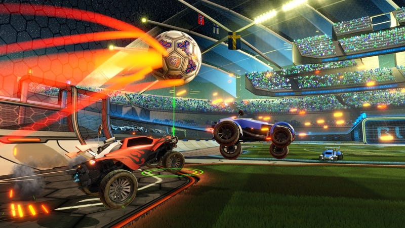 Illustration for article titled Rocket League Patch Takes Aim At Quitters