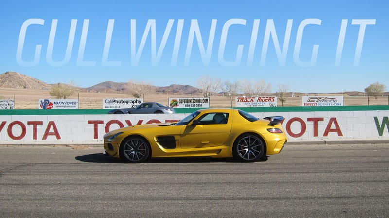 Illustration for article titled 2014 Mercedes-Benz SLS AMG Black: An Orgasm With Gullwings