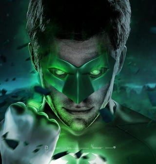 Illustration for article titled Fan Art Imagines Chris Pine As A Green Lantern