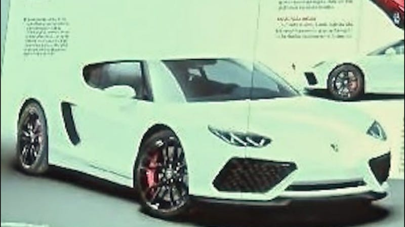 Illustration for article titled Is This The Lamborghini Asterion Hybrid?