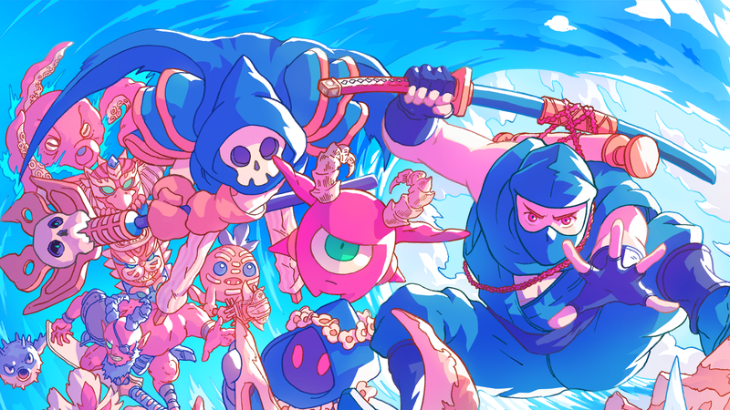 Illustration for article titled The Messenger's New Island DLC Is A Perfect Substitute For A Day At The Beach