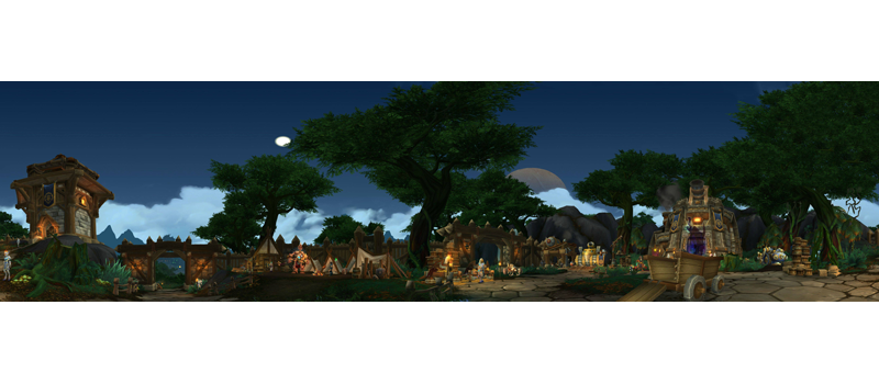 Illustration for article titled World of Warcraft Panorama Shots To Delight And Amaze
