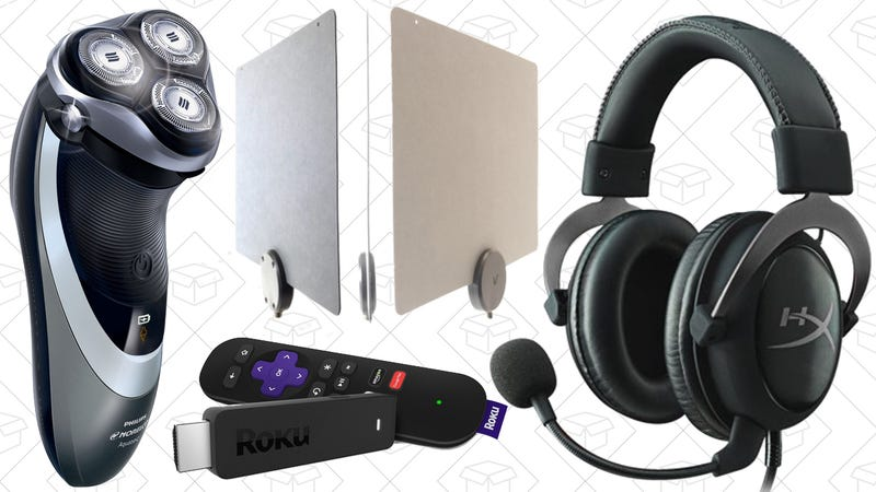 Illustration for article titled Today's Best Deals: Affordable Shaver, Discounted Computing Gear, and More