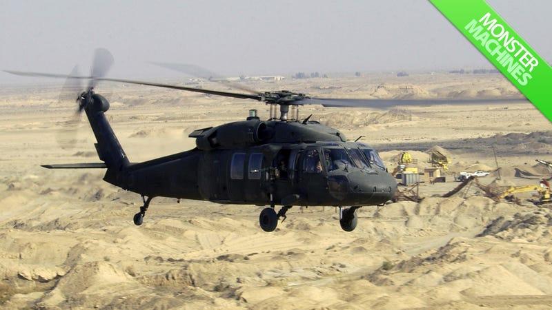 Illustration for article titled The Berzerker Black Hawk Helicopter That Helped Kill Osama bin Laden