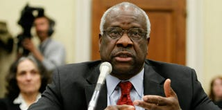 Supreme Court Justice Clarence Thomas (Alex Wong/Getty Images)