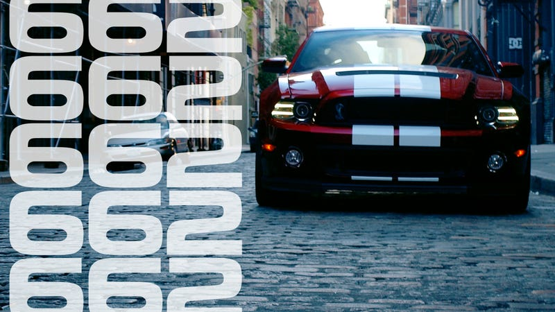 Illustration for article titled The Shelby GT500: This Is Your Brain On 662 Horsepower