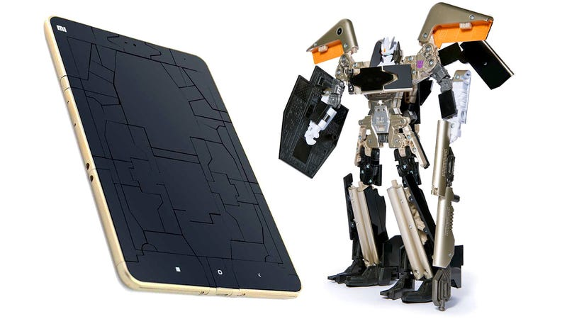 Illustration for article titled Transforming Xiaomi Tablet Is More Than Meets the Eye