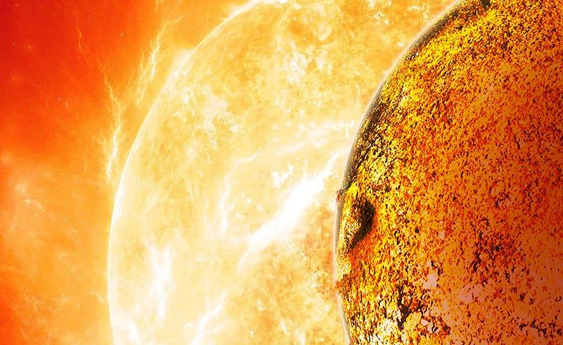 Illustration for article titled La Tierra tiene un planeta gemelo en tamaño, pero cubierto de lava