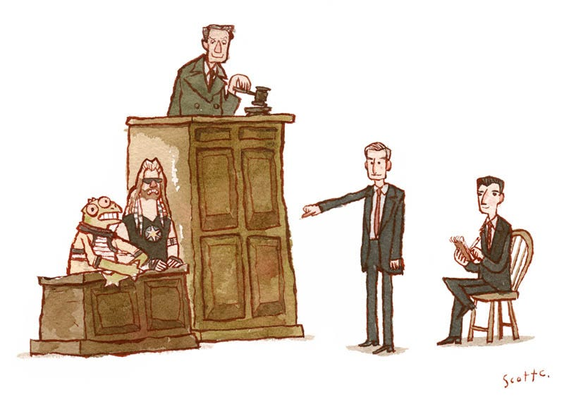 Illustration for article titled What if Law & Order was a science fiction show?