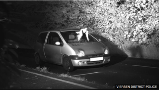 Illustration for article titled speeding Twingo driver spared fine