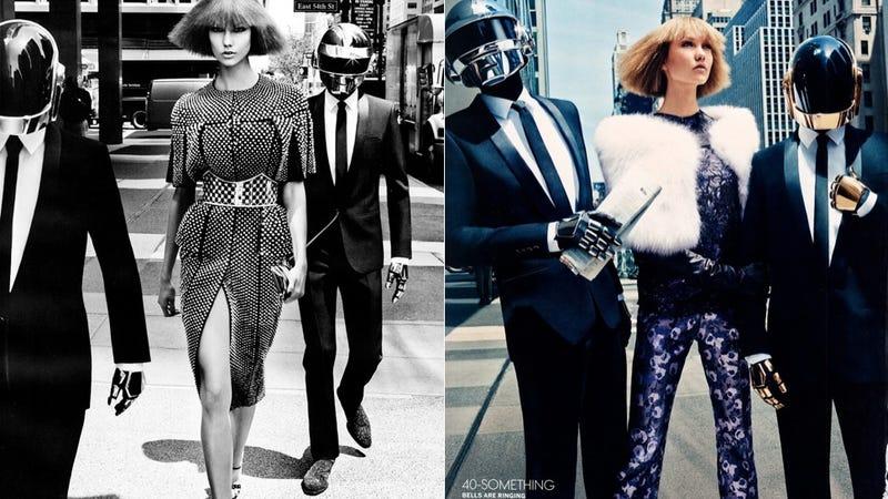 Illustration for article titled Vogue Dedicates Spread to Daft Punk