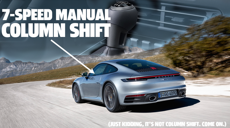 Illustration for article titled Porsche Will Let You Shift Your Own Gears On The 2020 Porsche 911 Carrera S and 4S