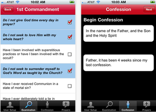 Illustration for article titled Vatican: Stop Confessing Your Sins to an iPhone