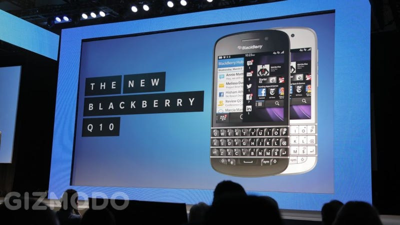 Illustration for article titled BlackBerry Q10: The Next Generation Physical QWERTY Beast Has a Touchscreen Too (Updating)