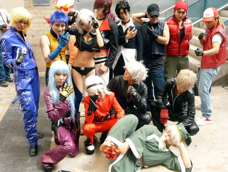 Illustration for article titled Tokyo Game Show To Host Cosplay Battles, Fighting Tournaments