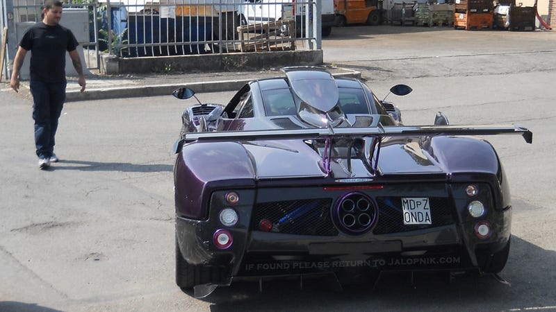 Illustration for article titled Is This Lewis Hamilton's New Zonda?