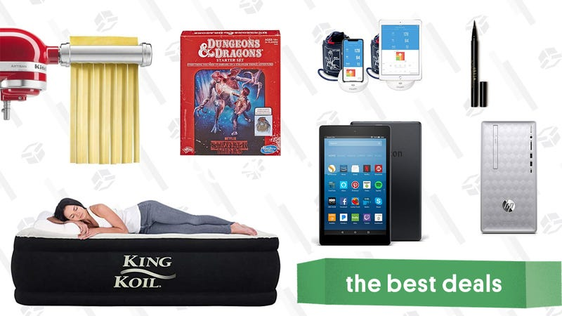 Illustration for article titled Thursday's Best Deals: Fire HD 10, Stranger Things D&D, Weighted Blankets, and More