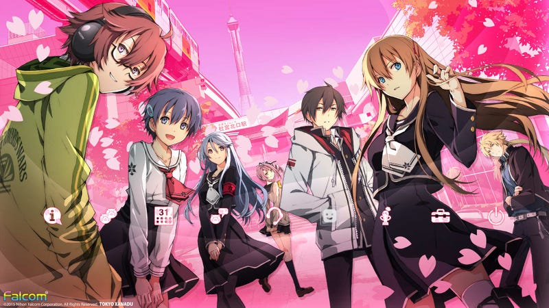 Illustration for article titled Tokyo Xanadu Confirmed for PSV (Physical) and PC (Steam) in 2017!