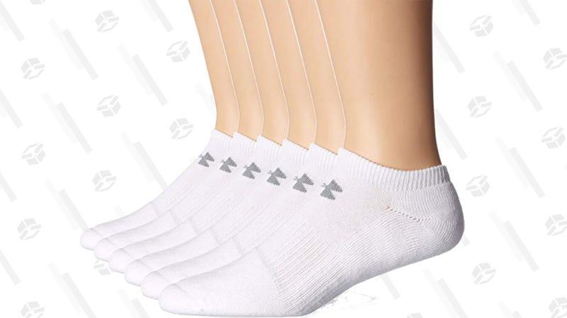 Under Armour Men's No-Show Socks | $9 | Amazon
