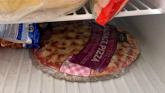 Pizza Placed In Frozen Slumber Until Time World Needs It Most