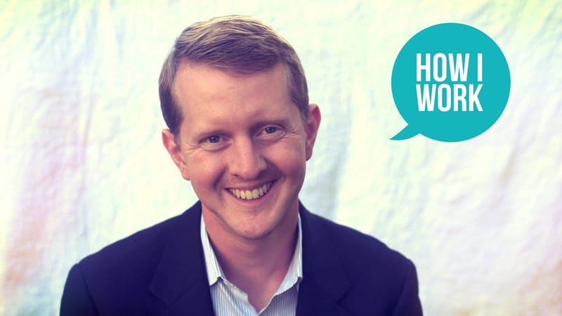 Illustration for article titled I'm Ken Jennings and This Is How I Work