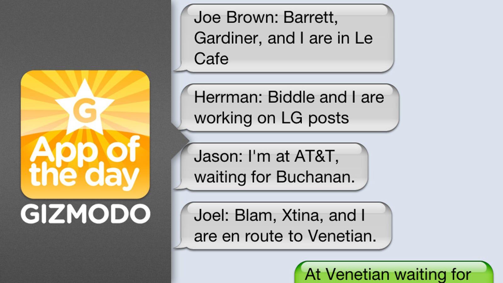 Lifechanger: GroupMe Group Texting