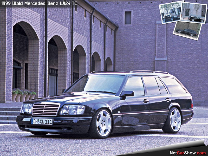 Illustration for article titled W124 Wagon Wednesday