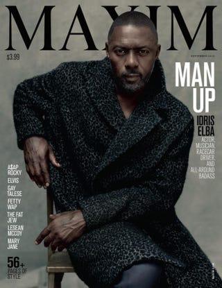 Idris ElbaMaxim