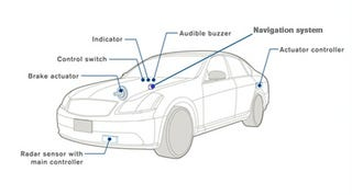 Illustration for article titled Nissan Develops Navigation-enabled Cruise Control