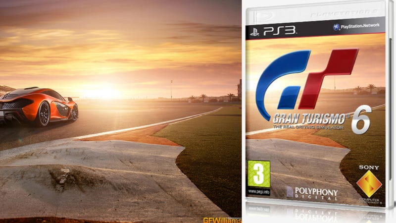 Illustration for article titled This Fake Gran Turismo 6 Box Stole Its Cover Photo