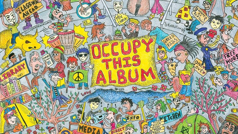 Illustration for article titled Stream songs by Ani DiFranco and Mogwai from new Occupy This Album compilation