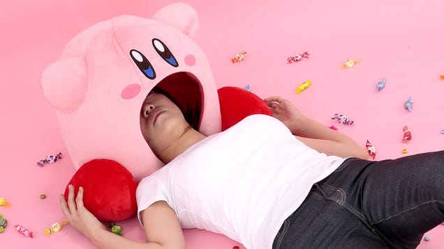 The Great Big, Pink, and Weird World of Kirby Merch