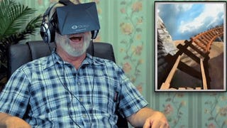 Old Folks Trying the Oculus Rift for the First Time