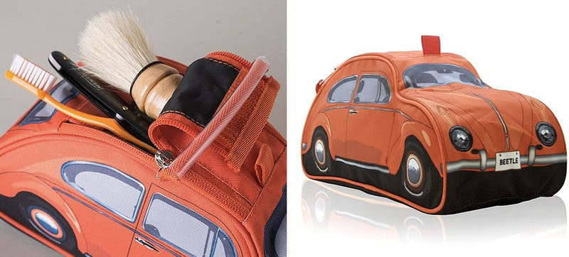 Illustration for article titled A VW Beetle Toiletries Case For Hippies Who Prefer Staying Clean