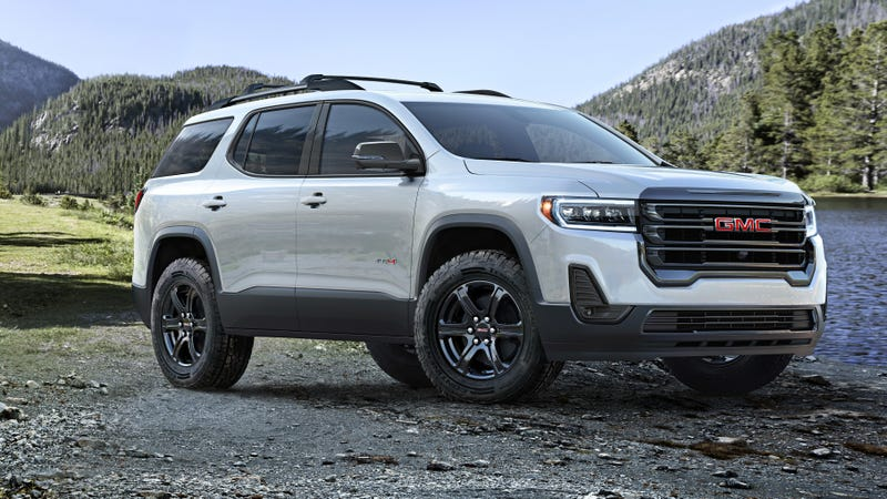 The 2020 GMC Acadia Gets an 'Off-Road' Look and a Wacky ...