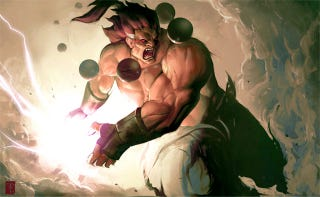 Illustration for article titled Street Fighter's Akuma And The Art Of The Zanku Hadouken