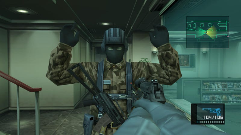 Illustration for article titled Kojima Wants Someone To Remake Metal Gear Solid, But That's All.