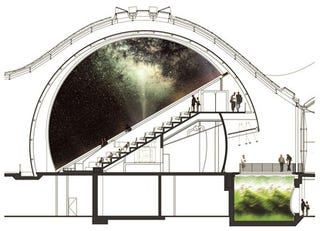 Illustration for article titled Check Out the World's Most High-Tech Planetarium