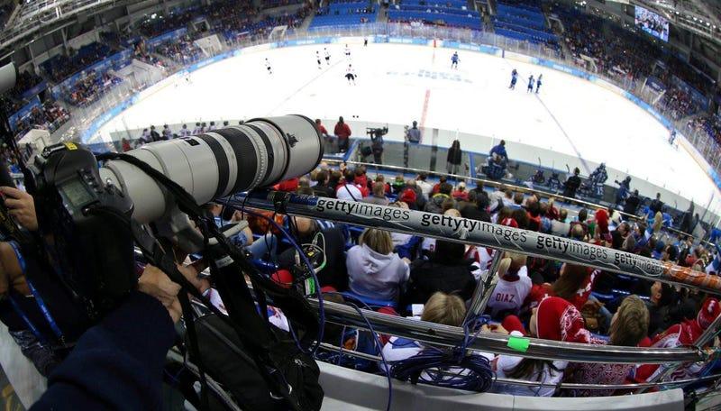 Cómo cazan sus espectaculares imágenes los fotógrafos Olímpicos