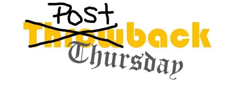 Illustration for article titled Postback Thursdays