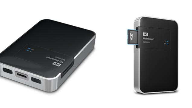 this new wireless hard drive cuts out cords and adds an sd card slot. Black Bedroom Furniture Sets. Home Design Ideas